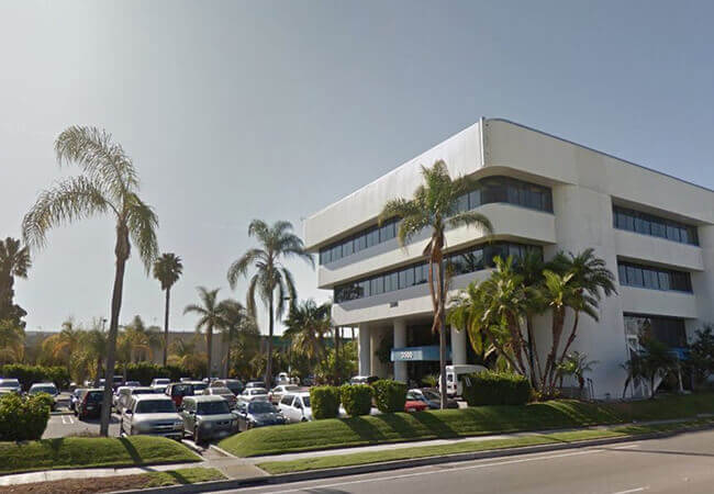 Outside view of Torrance California dental office
