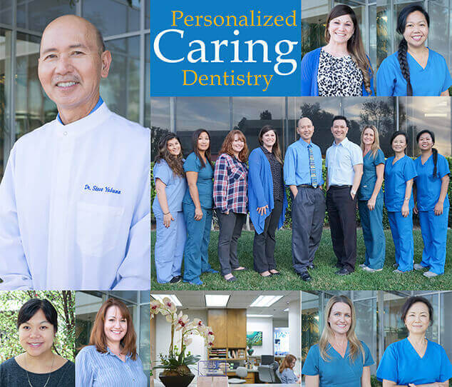 Collage of images of the Torrance Dentistry team